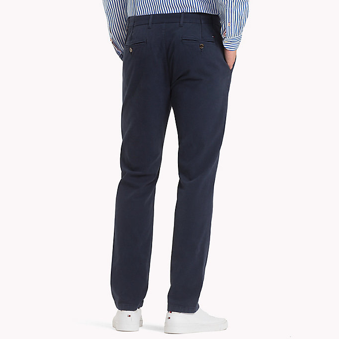 TOMMY HILFIGER Denton Chinos - DUTCH BLUE - TOMMY HILFIGER Men - detail image 1