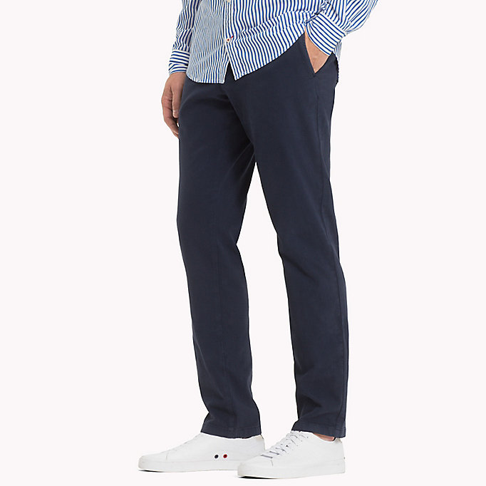 TOMMY HILFIGER Denton Chinos - DUTCH BLUE - TOMMY HILFIGER Men - detail image 2