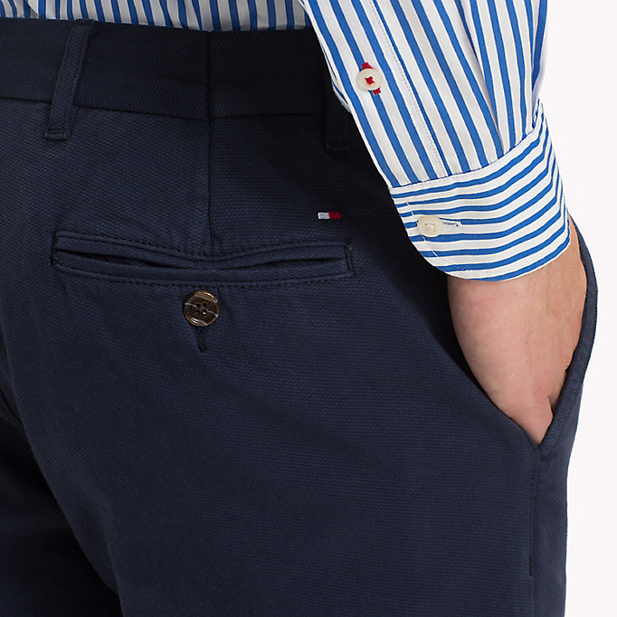 TOMMY HILFIGER Denton Chinos - DUTCH BLUE - TOMMY HILFIGER Men - detail image 3