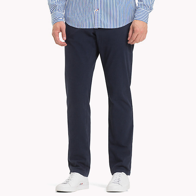TOMMY HILFIGER Denton Chinos - DUTCH BLUE - TOMMY HILFIGER Men - main image
