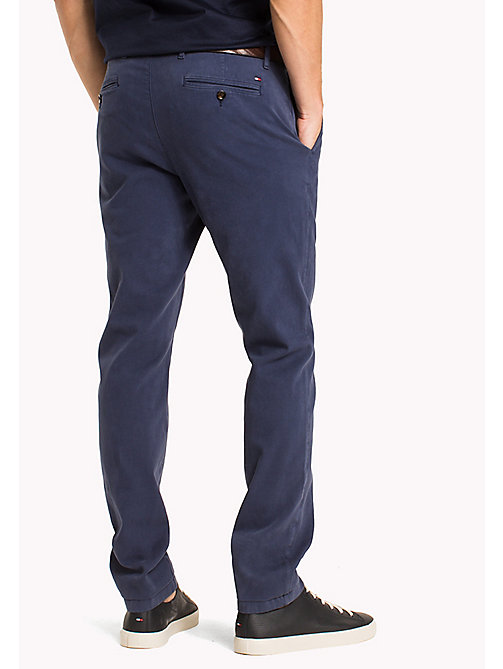 TOMMY HILFIGER Chino Denton - DUTCH BLUE - TOMMY HILFIGER Vêtements - image détaillée 1