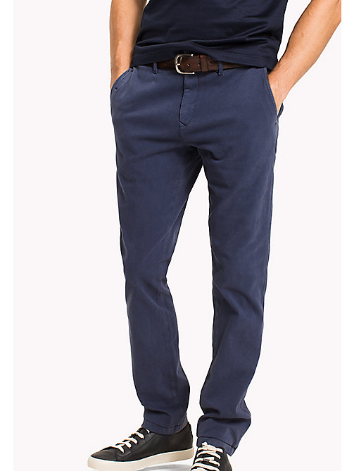 TOMMY HILFIGER Chino Denton - DUTCH BLUE - TOMMY HILFIGER Vêtements - image principale