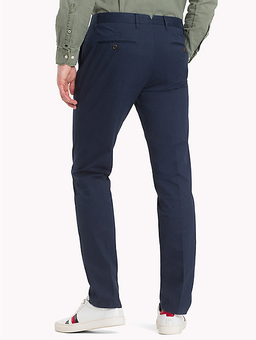TOMMY HILFIGER Straight Fit Chinos - NAVY BLAZER - TOMMY HILFIGER Chinos - detail image 1