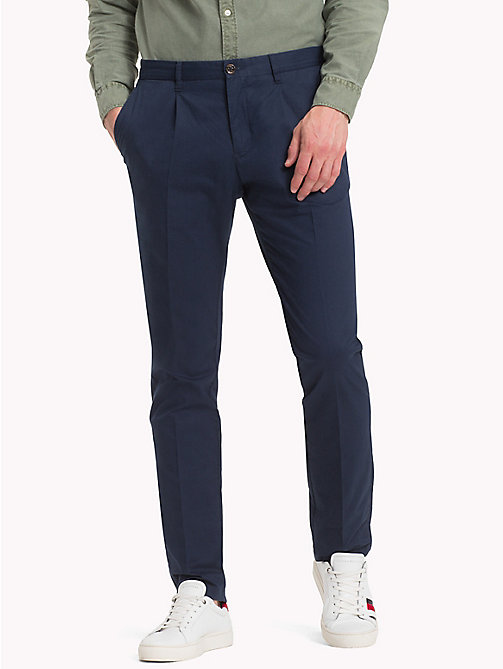 TOMMY HILFIGER Straight Fit Chinos - NAVY BLAZER - TOMMY HILFIGER NEW IN - main image