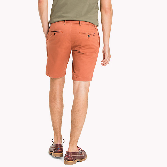 TOMMY HILFIGER Micro Print Regular Fit Shorts - ELMWOOD - TOMMY HILFIGER Clothing - detail image 1