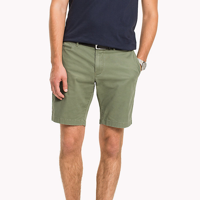 TOMMY HILFIGER Short à motif miniature coupe standard - DARK DENIM - TOMMY HILFIGER Vêtements - image principale