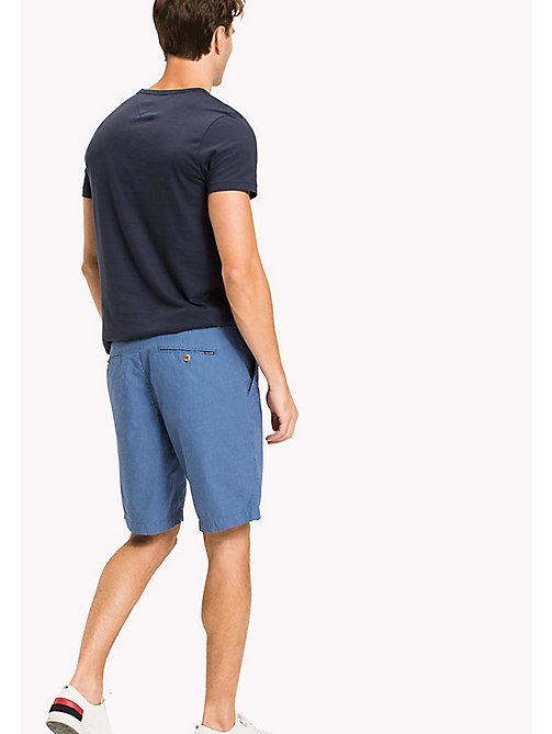 TOMMY HILFIGER Regular Fit Micro Check Shorts - REGATA - TOMMY HILFIGER NEW IN - detail image 1