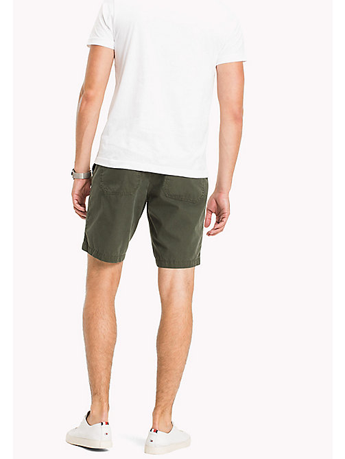 TOMMY HILFIGER Rip-stop Worker Shorts - FOUR LEAF CLOVER - TOMMY HILFIGER Shorts - main image 1
