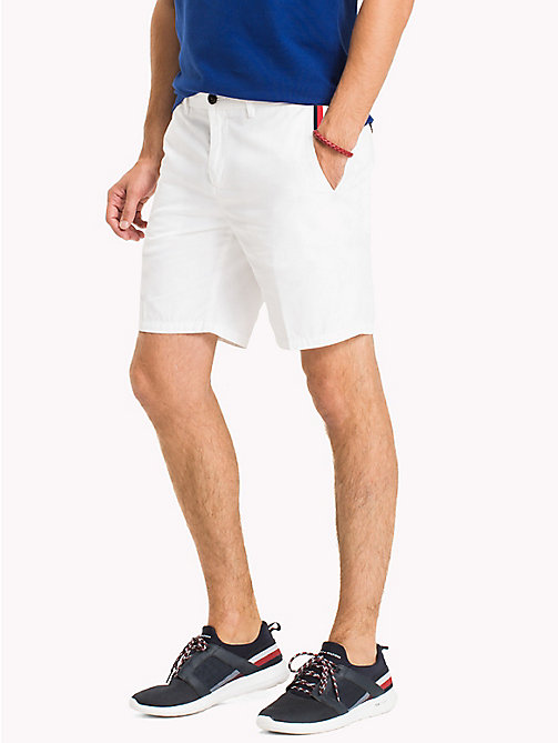 TOMMY HILFIGER Signature Tape Regular Fit Shorts - BRIGHT WHITE - TOMMY HILFIGER NEW IN - main image