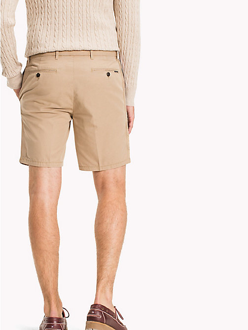 TOMMY HILFIGER Signature Tape Regular Fit Shorts - BATIQUE KHAKI - TOMMY HILFIGER Shorts - detail image 1