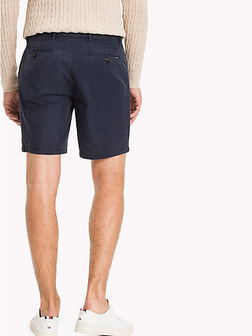 TOMMY HILFIGER Signature Tape Regular Fit Shorts - NAVY BLAZER - TOMMY HILFIGER Shorts - detail image 1