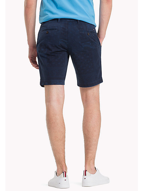 TOMMY HILFIGER Bandana Regular Fit Shorts - NAVY BLAZER - TOMMY HILFIGER Vacation Style - detail image 1