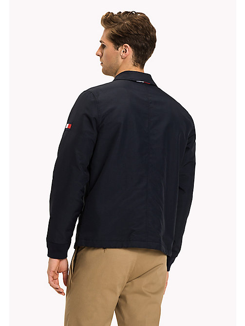 TOMMY HILFIGER Regular Fit Coach Jacket - NAVY BLAZER - TOMMY HILFIGER Clothing - detail image 1