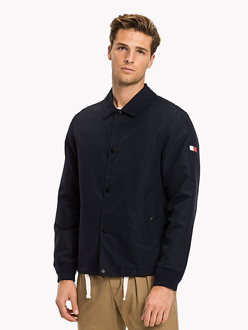 TOMMY HILFIGER Regular Fit Coach Jacket - NAVY BLAZER - TOMMY HILFIGER Jackets - main image