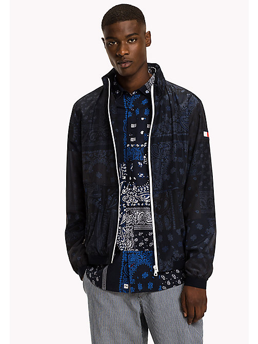 TOMMY HILFIGER Bandana Print Jacket - SKY CAPTAIN - TOMMY HILFIGER Clothing - main image