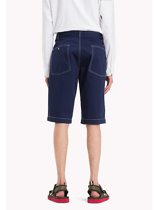 HILFIGER COLLECTION Workwear-Shorts mit Kontrastnähten - ASTRAL AURA - HILFIGER COLLECTION Hilfiger Collection - main image 1