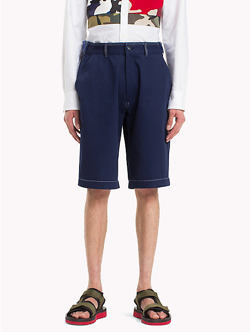 HILFIGER COLLECTION Workwear-Shorts mit Kontrastnähten - ASTRAL AURA - HILFIGER COLLECTION Hilfiger Collection - main image