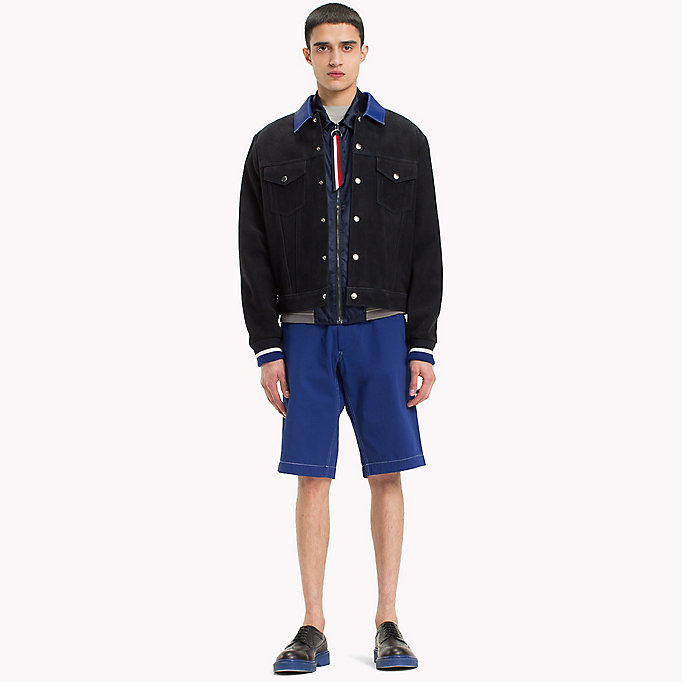 HILFIGER COLLECTION Contrast Stitchworkwear Short - ASTRAL AURA - HILFIGER COLLECTION Men - detail image 4