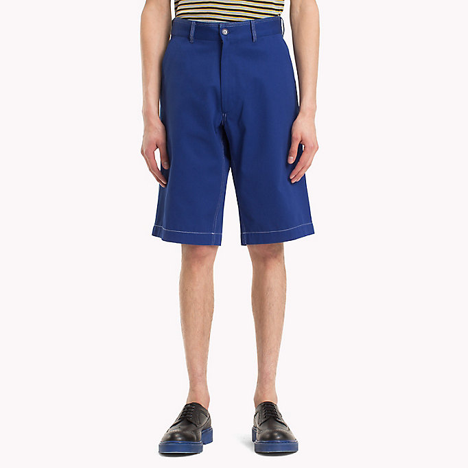 HILFIGER COLLECTION Contrast Stitchworkwear Short - ASTRAL AURA - HILFIGER COLLECTION Men - main image