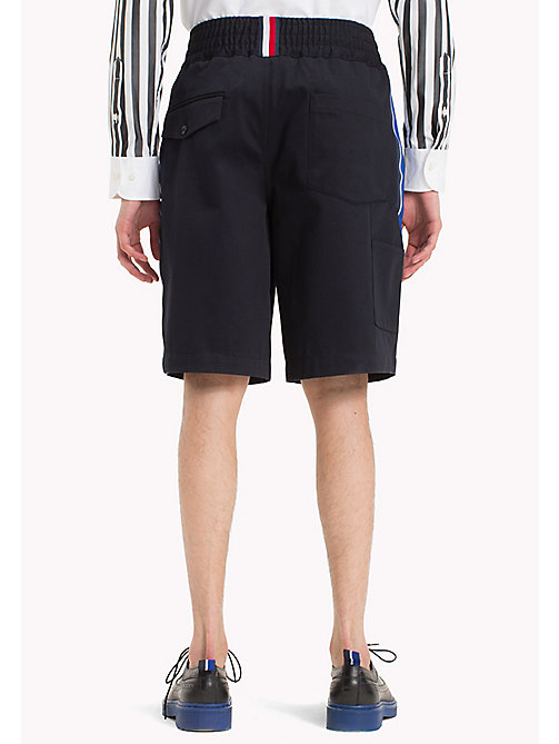 HILFIGER COLLECTION Short met elastische tailleband - SKY CAPTAIN - HILFIGER COLLECTION HILFIGER COLLECTION - detail image 1