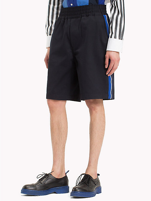 HILFIGER COLLECTION Short met elastische tailleband - SKY CAPTAIN - HILFIGER COLLECTION HILFIGER COLLECTION - main image