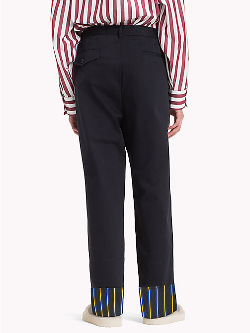 HILFIGER COLLECTION Pantaloni chino oversize in cotone - SKY CAPTAIN - HILFIGER COLLECTION Hilfiger Collection - dettaglio immagine 1