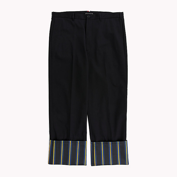 HILFIGER COLLECTION Oversized Cotton Chino - ASTRAL AURA - HILFIGER COLLECTION Men - detail image 4