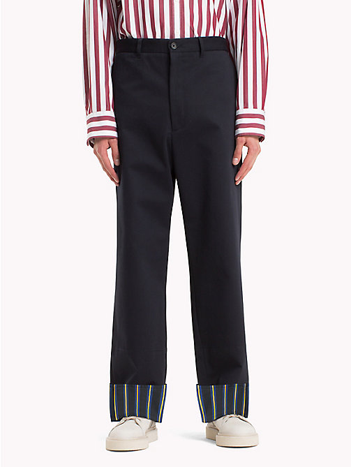 HILFIGER COLLECTION Oversized Cotton Chino - SKY CAPTAIN - HILFIGER COLLECTION HILFIGER COLLECTION - main image