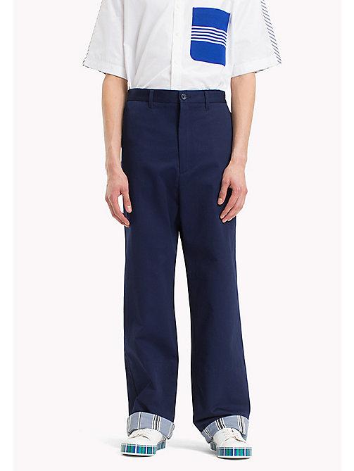 HILFIGER COLLECTION Pantaloni chino oversize in cotone - ASTRAL AURA - HILFIGER COLLECTION Hilfiger Collection - immagine principale