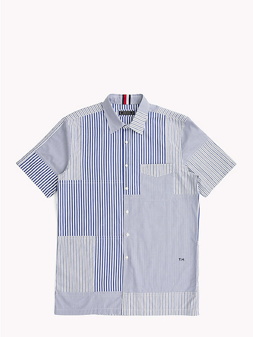HILFIGER COLLECTION Camicia con maniche corte a righe - SKY CAPTAIN / MULTI - HILFIGER COLLECTION HILFIGER COLLECTION - immagine principale