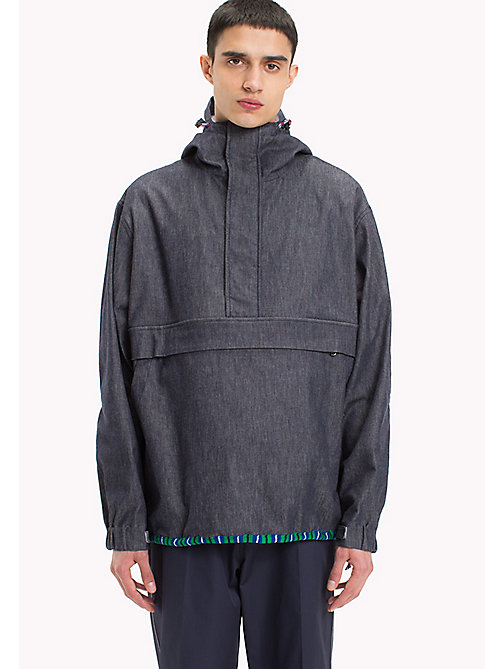 HILFIGER COLLECTION Denim Anorak - DARK DENIM - HILFIGER COLLECTION HILFIGER COLLECTION - main image