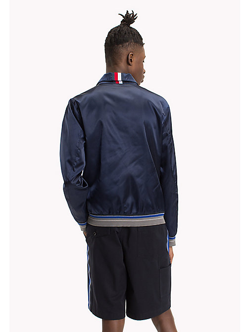 HILFIGER COLLECTION SATIN HARRINGTON JACKET - SKY CAPTAIN - HILFIGER COLLECTION HILFIGER COLLECTION - dettaglio immagine 1