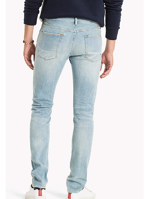 TOMMY HILFIGER Denton Straight Fit Stretch Jeans - PAWTUCKET BLUE - TOMMY HILFIGER Straight-Fit Jeans - detail image 1