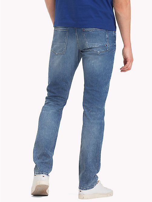 TOMMY HILFIGER Faded Slim Fit Jeans - LINCOLN INDIGO - TOMMY HILFIGER Clothing - detail image 1