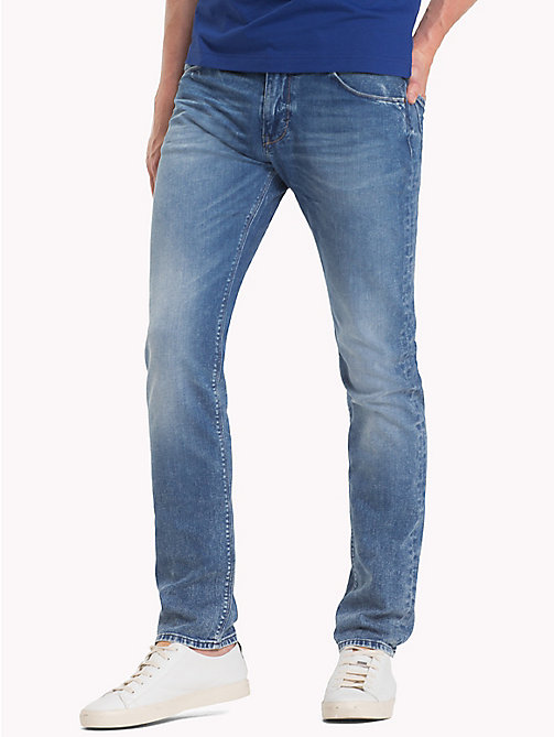 TOMMY HILFIGER Faded Slim Fit Jeans - LINCOLN INDIGO - TOMMY HILFIGER Clothing - main image