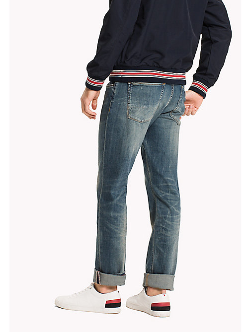 TOMMY HILFIGER Denton Straight Fit Jeans - EXESTER INDIGO - TOMMY HILFIGER Clothing - detail image 1