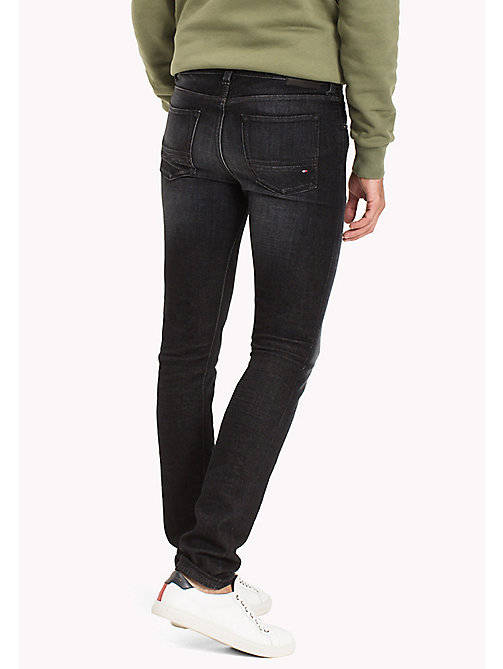 TOMMY HILFIGER Faded Slim Fit Jeans - WESTERLY BLACK - TOMMY HILFIGER TOMMY'S PADDOCK - detail image 1