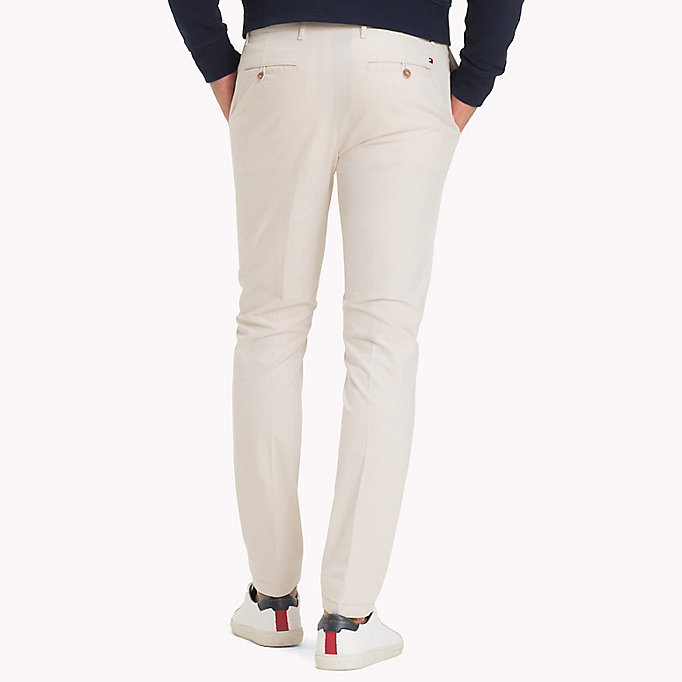 TOMMY HILFIGER Denton Stripe Chinos - NAVY BLAZER - TOMMY HILFIGER Men - detail image 1