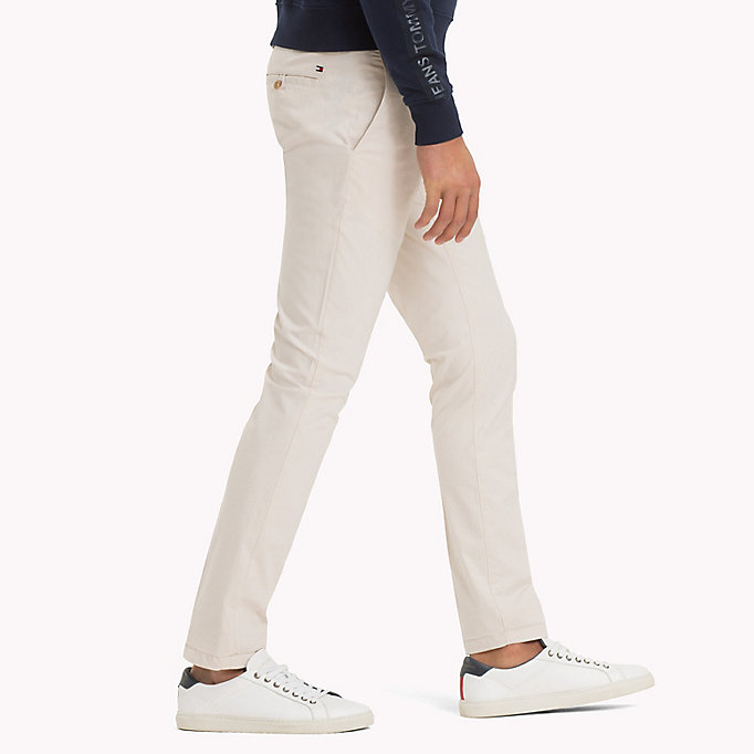 TOMMY HILFIGER Denton Stripe Chinos - NAVY BLAZER - TOMMY HILFIGER Clothing - detail image 2