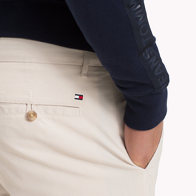 TOMMY HILFIGER Denton Stripe Chinos - NAVY BLAZER - TOMMY HILFIGER Men - detail image 3