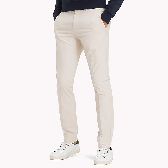 TOMMY HILFIGER Denton Stripe Chinos - NAVY BLAZER - TOMMY HILFIGER Clothing - main image