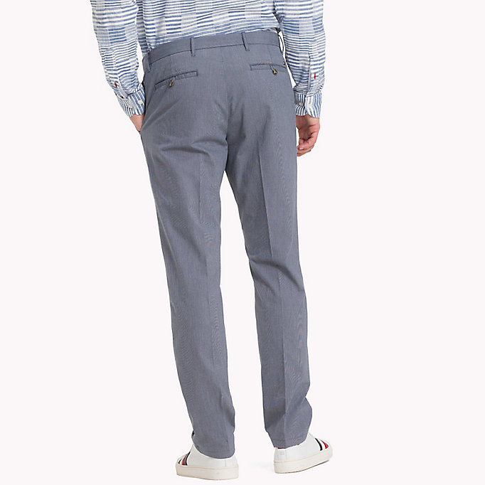 TOMMY HILFIGER Denton Stripe Chinos - DUTCH BLUE - TOMMY HILFIGER Men - detail image 1