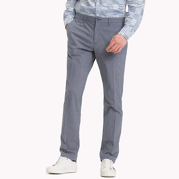 TOMMY HILFIGER Denton Stripe Chinos - DUTCH BLUE - TOMMY HILFIGER Men - main image