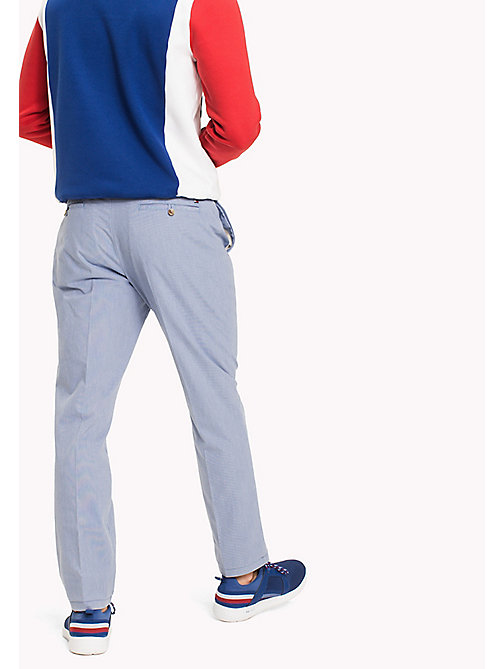 TOMMY HILFIGER Denton Stripe Chinos - DUTCH BLUE - TOMMY HILFIGER Trousers & Shorts - detail image 1