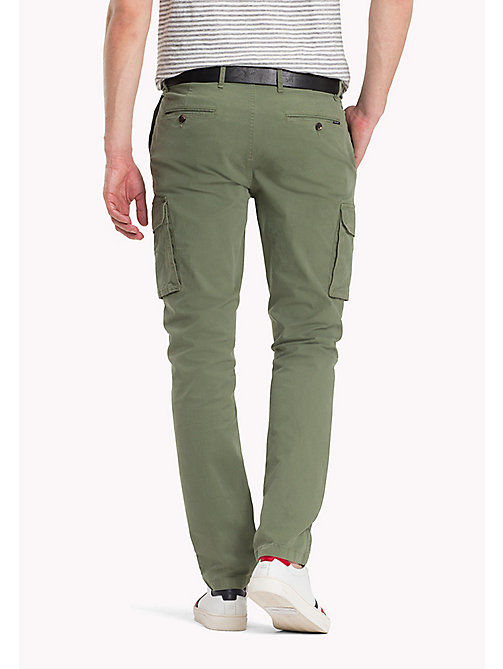 Cargo Straight Fit Trousers - FOUR LEAF CLOVER - TOMMY HILFIGER Clothing - detail image 1