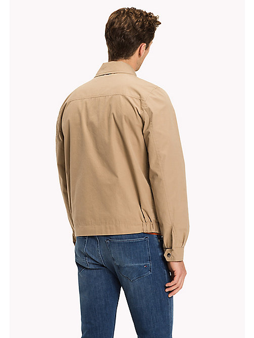 TOMMY HILFIGER Classic Tommy zip-up jack - BATIQUE KHAKI - TOMMY HILFIGER Jacks - detail image 1