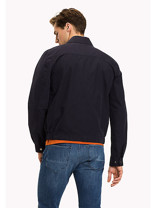 TOMMY HILFIGER Classic Tommy zip-up jack - SKY CAPTAIN - TOMMY HILFIGER Jacks - detail image 1