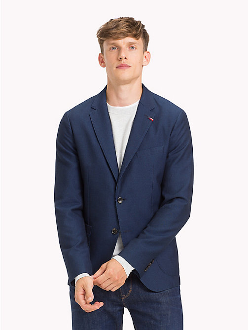 TOMMY HILFIGER Slim Fit Denim Blazer - NAVY BLAZER - TOMMY HILFIGER Clothing - main image