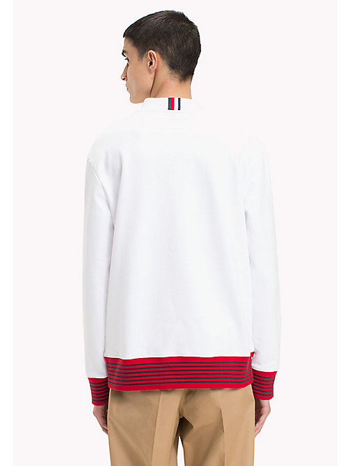 HILFIGER COLLECTION Hilfiger Collection Printed Sweatshirt - BRIGHT WHITE - HILFIGER COLLECTION Sweatshirts & Knitwear - detail image 1