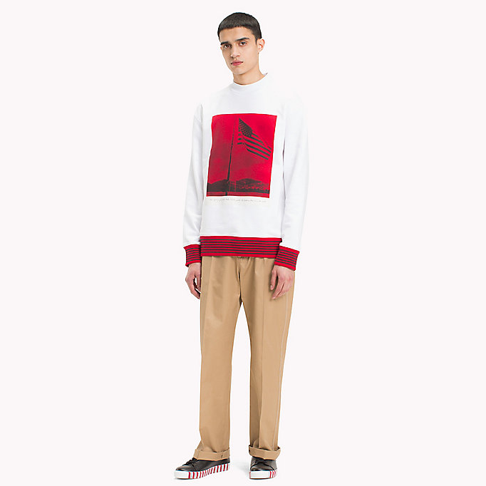 HILFIGER COLLECTION Hilfiger Collection Printed Sweatshirt - BARBADOS CHERRY - HILFIGER COLLECTION Men - detail image 3